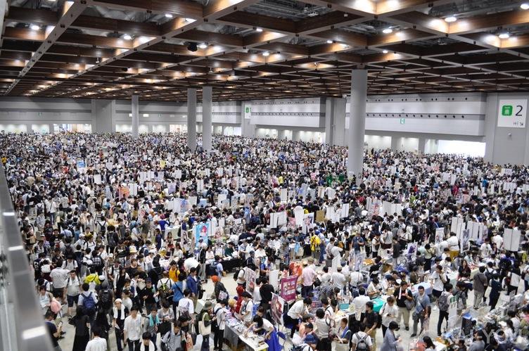 コミケ96 史上最多73万人が来場 会場間の回遊性には課題も