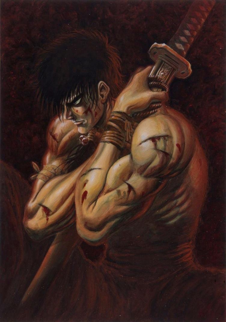 『ベルセルク』三浦建太郎の初期作『王狼』がリバイバル連載 初回は80ページ
