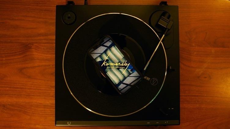 なんとも不思議な音楽体験 レコード専用の映像技術「RECORD MUSIC VIDEO」