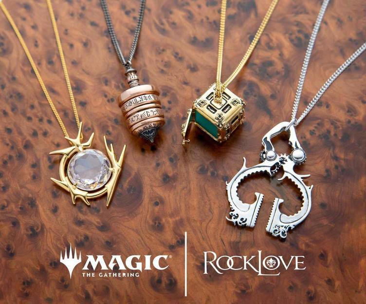 『Magic: The Gathering』の「モックス・ダイアモンド」他4種がジュエリー化 カードよりは安い
