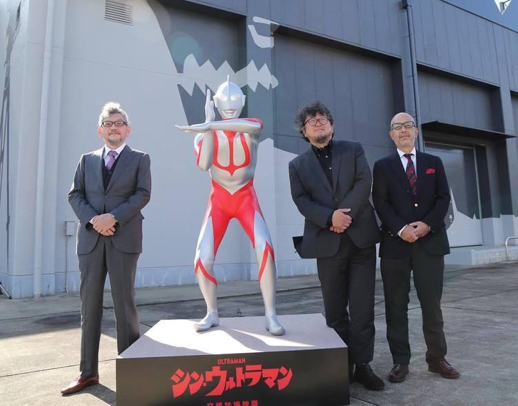 庵野秀明×樋口真嗣『シン・ウルトラマン』2021年初夏公開 特撮にとって特別な日に発表