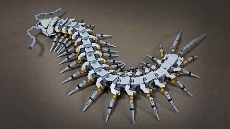 SF映画に出てきそうな「メカムカデ」 レゴ世界コンテストで入賞
