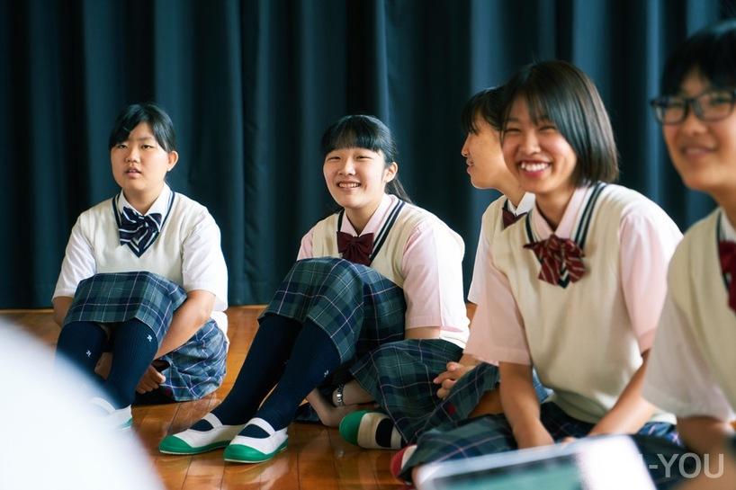 東筑紫学園高校の生徒の皆さん