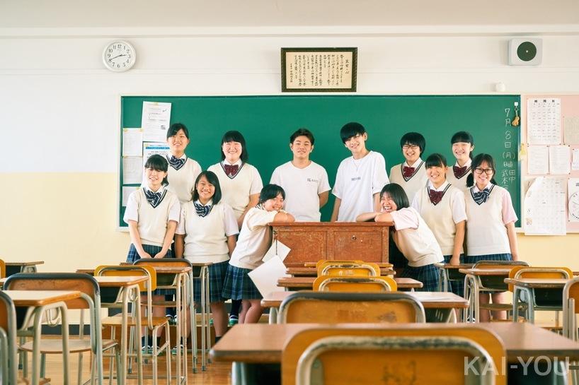 今回協力してくれた東筑紫学園高校・演劇科専攻の皆さんと