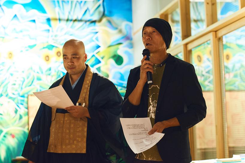 左:古川周賢さん 右:椿昇さん
