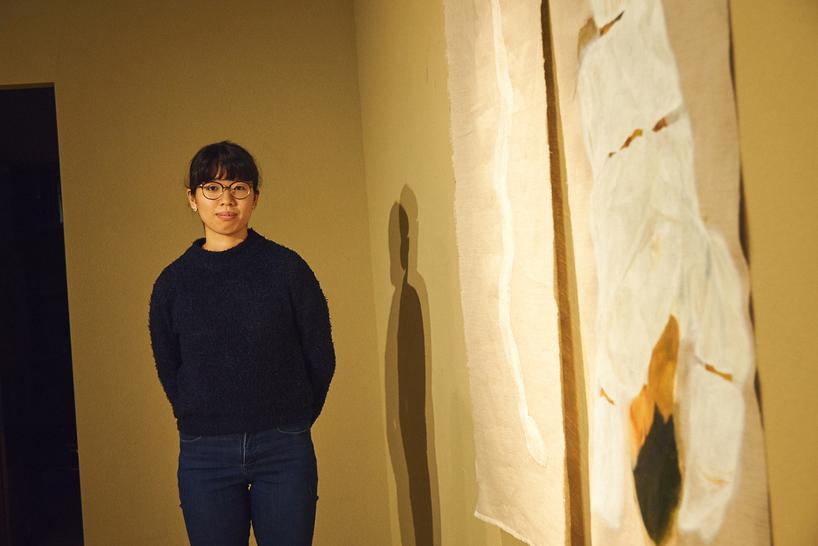 最優秀賞を受賞した、今井志芳夏さん『脱皮の夢』