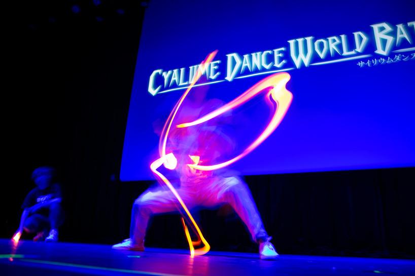 「CYALUME DANCE WORLD BATTLE FINAL」の様子
