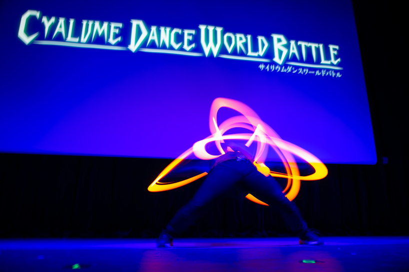 「CYALUME DANCE WORLD BATTLE FINAL」の様子