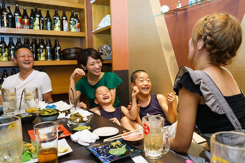 藤田さんと下川さん家族