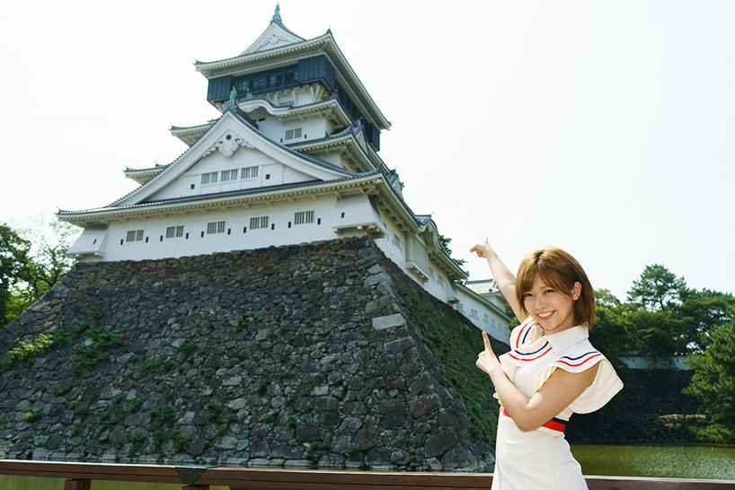 藤田さんの推しは「小倉城」だ。子どもの頃は毎年正月に、小倉城で書き初めを行なっていたのだそう