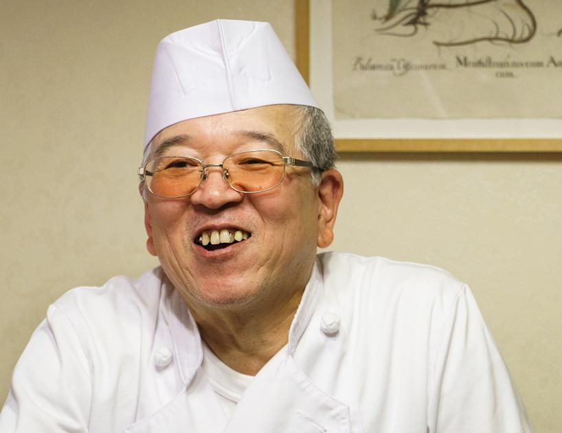 「耕治」現総料理長・角井賢次郎