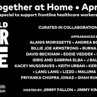 「One World: Together at Home」/画像は公式サイトから